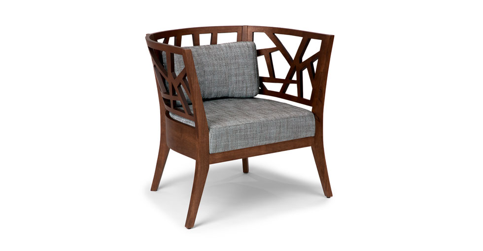 Jenifer Barrel Back Lounge Chair