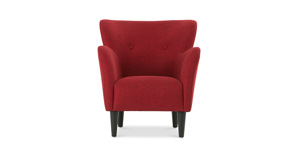 Happy Picasso Red Armchair