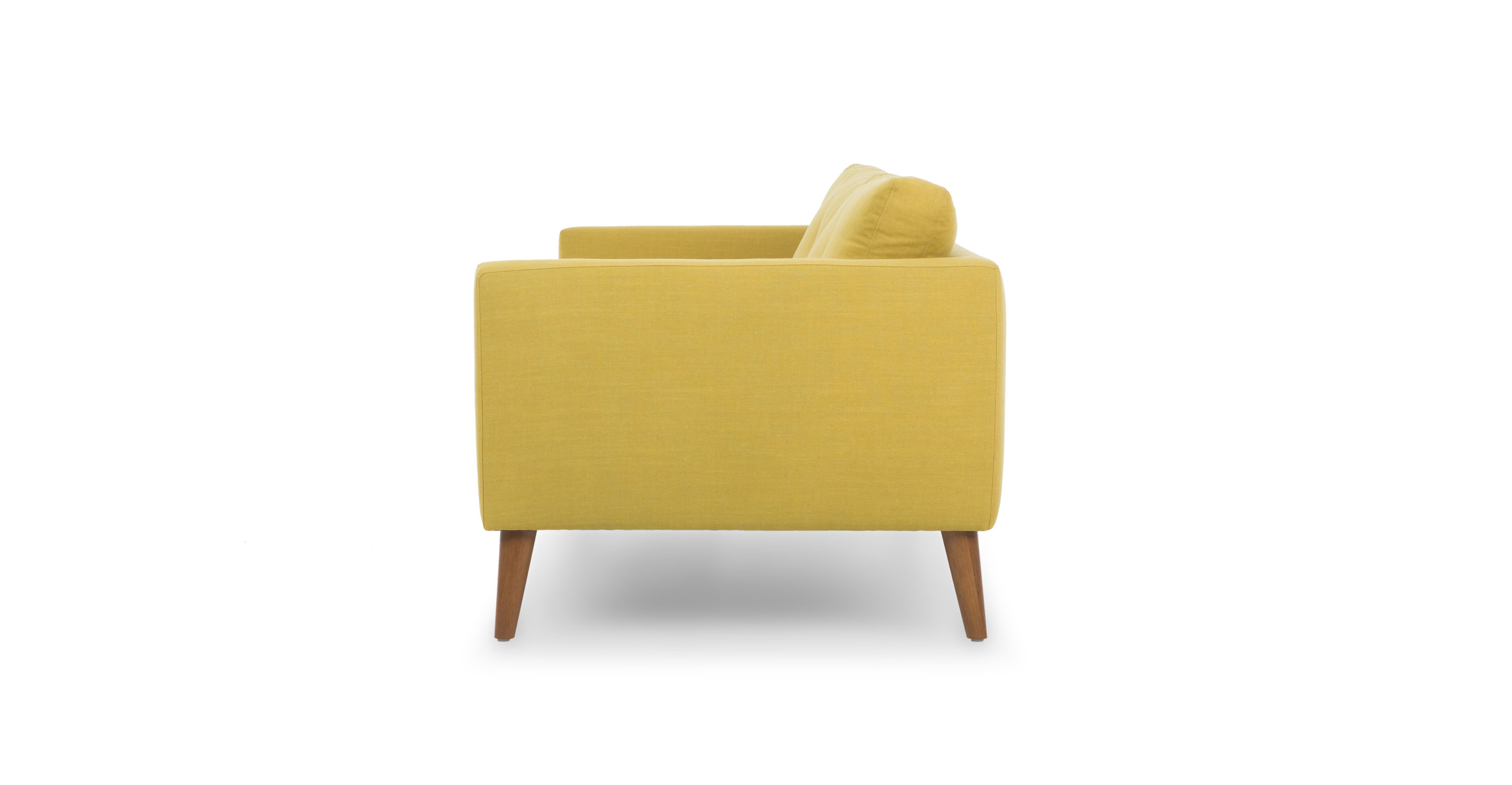 Emil Chartreuse Yellow Sofa Sofas Article Modern