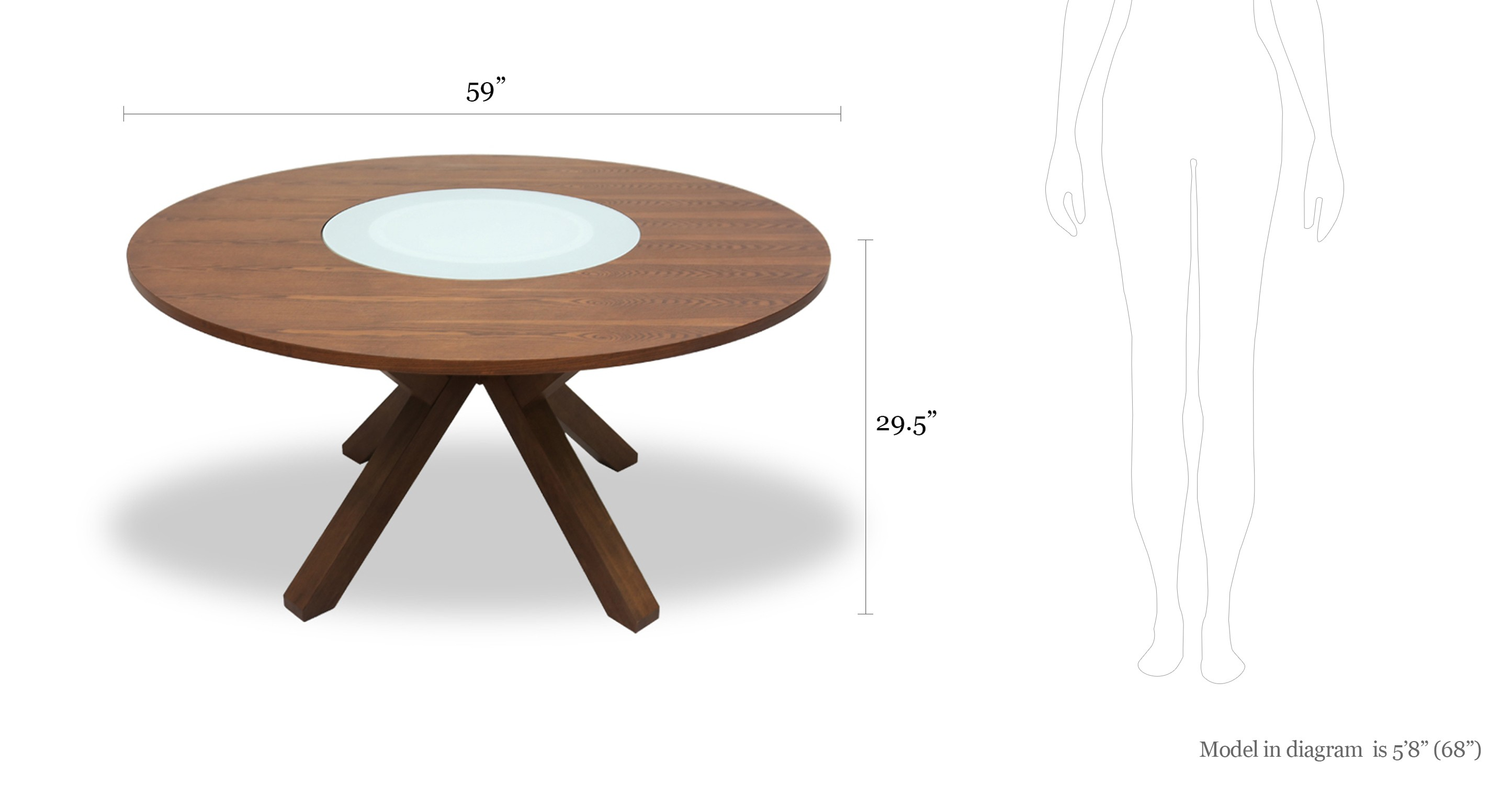 Clifford Lazy Susan Round Dining Table Glass Tables  : image5910 from www.bryght.com size 2890 x 1500 jpeg 165kB