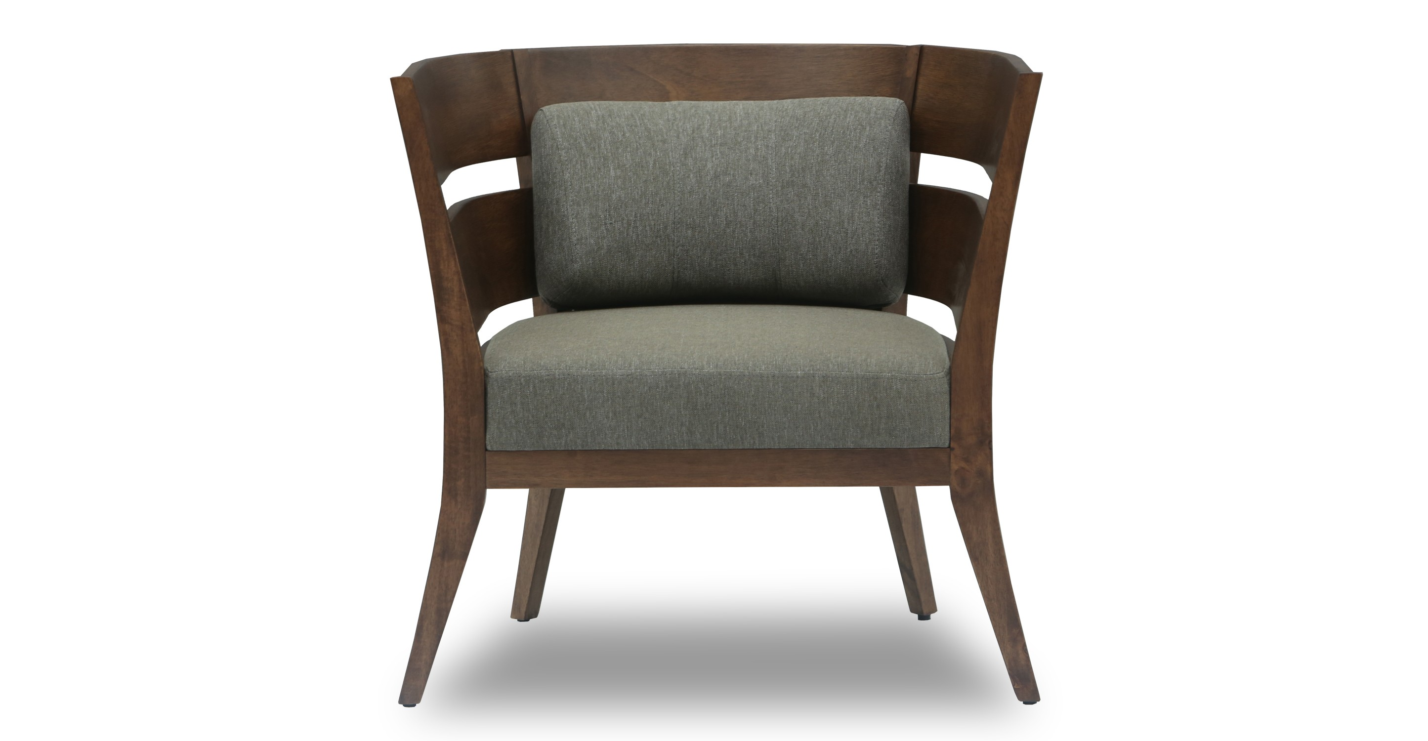 Mier cocoa lounge chair lounge chairs article modern mid century and scandinavian furniture - Scandinavian chair ...