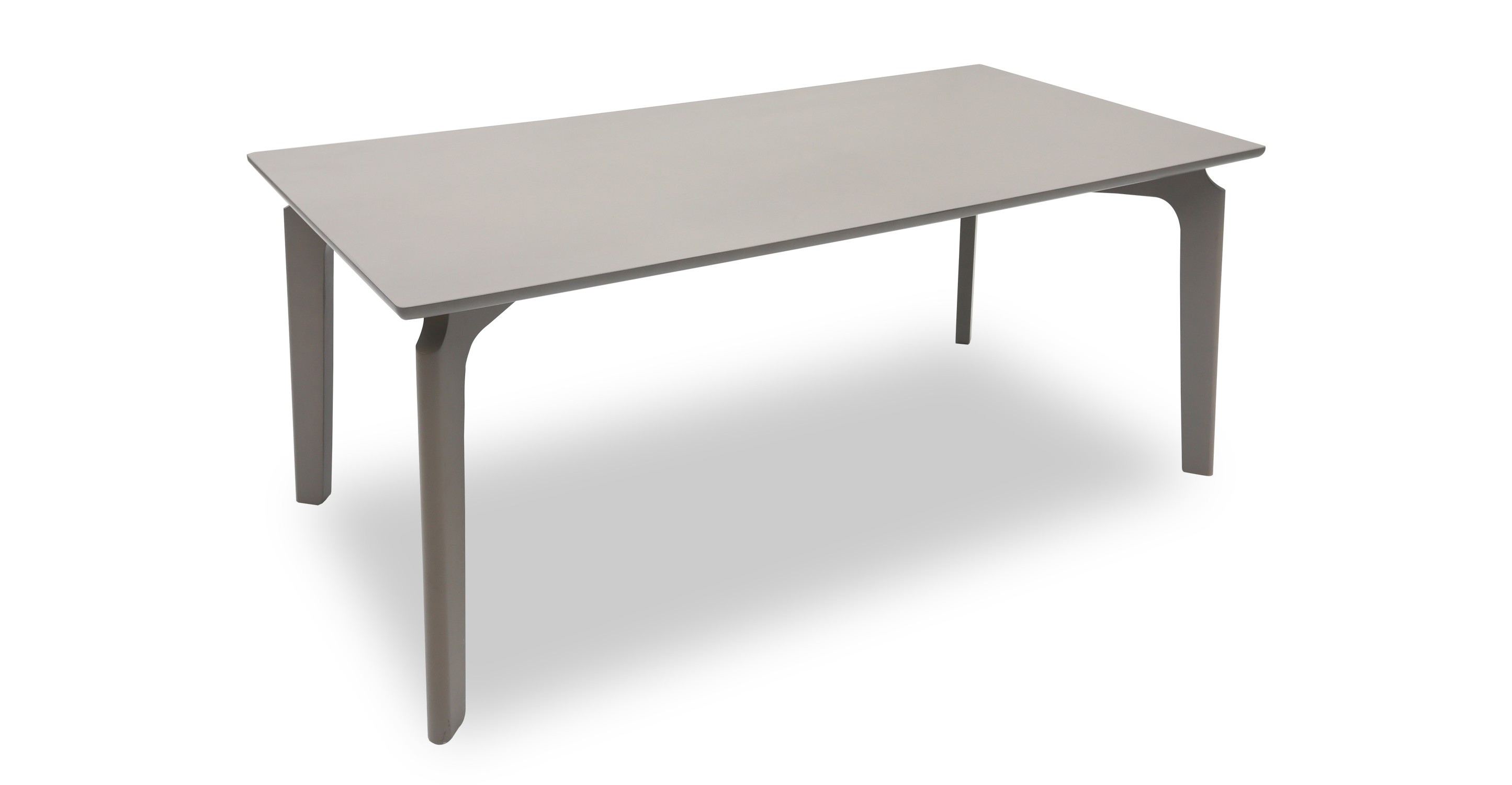 Slice granite wood dining table dining tables article - Granite and wood dining table ...