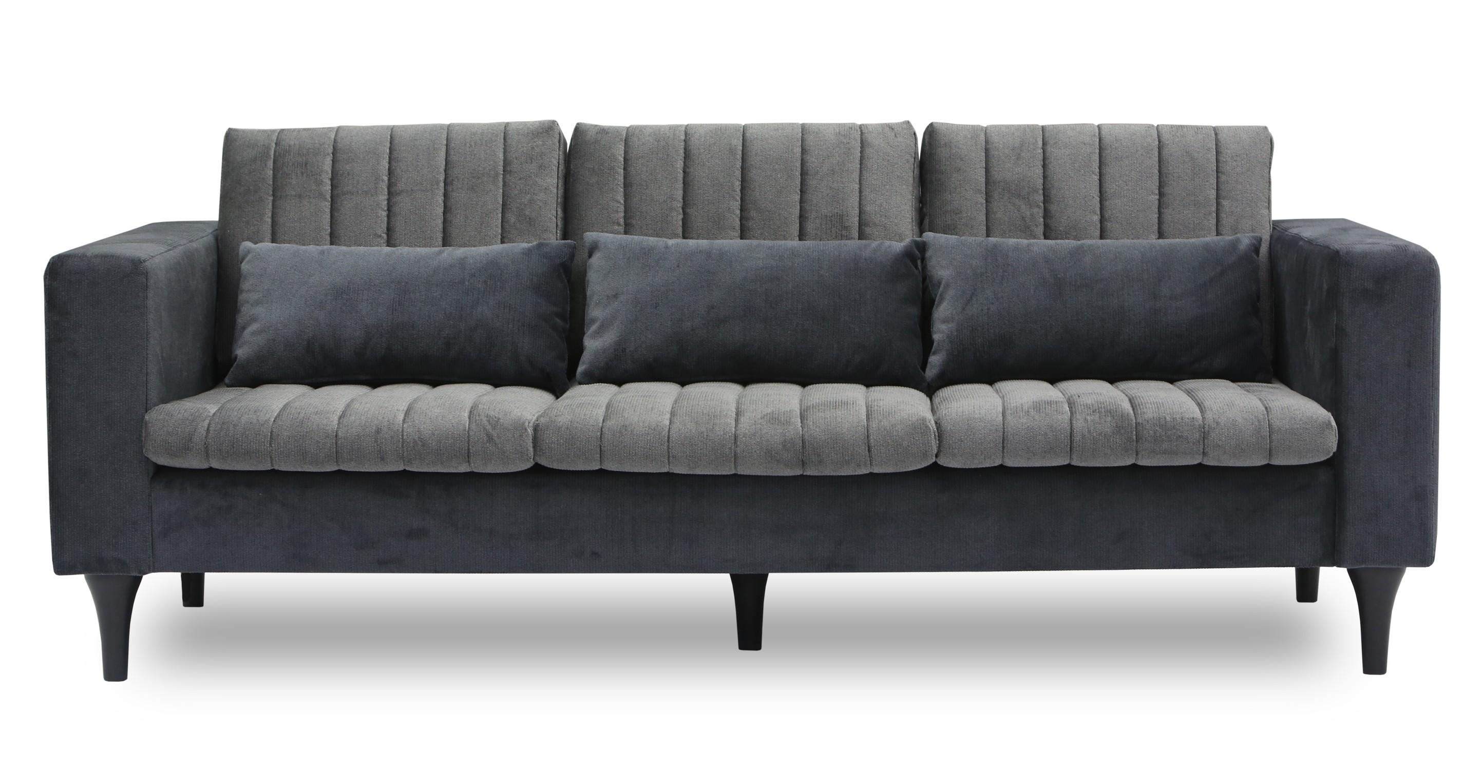 Strip Ash Sofa Sofas Article Modern Mid Century And