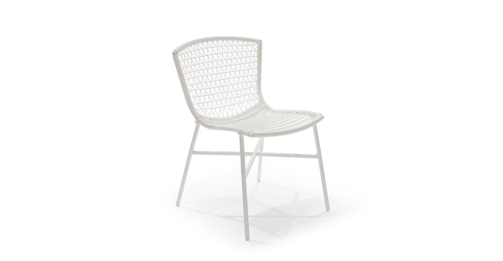 Sala White Dining Chair