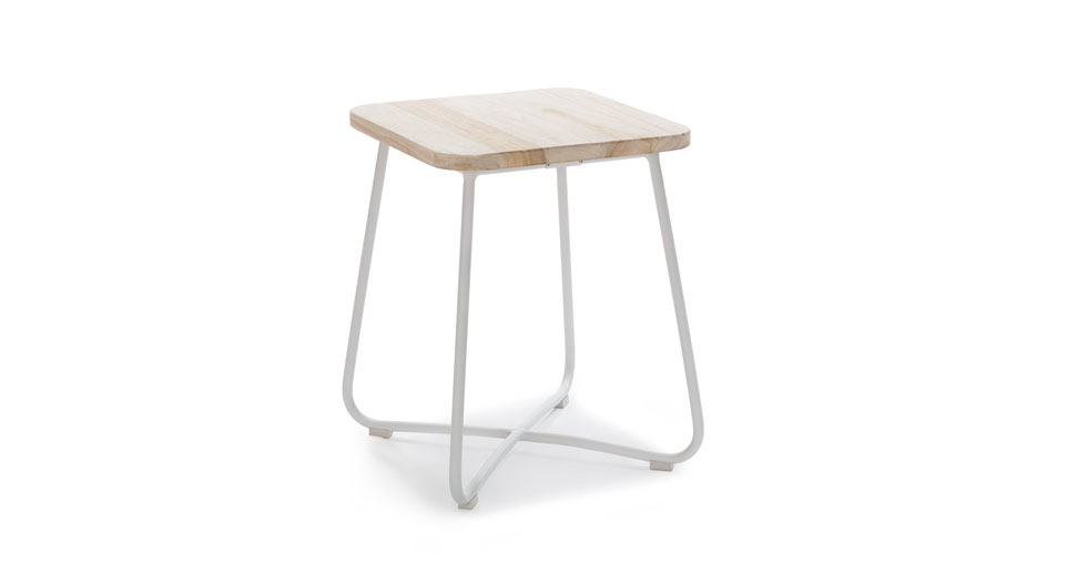 Nimbus White Side Table