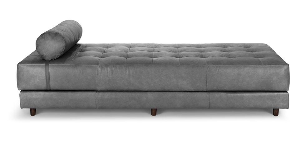 Sven Oxford Gray Daybed