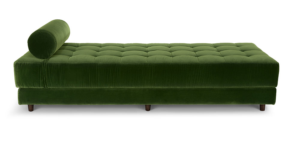 Sven Grass Green Daybed