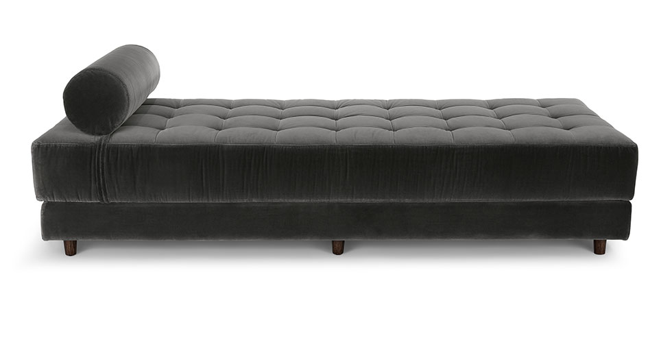 Sven Shadow Gray Daybed