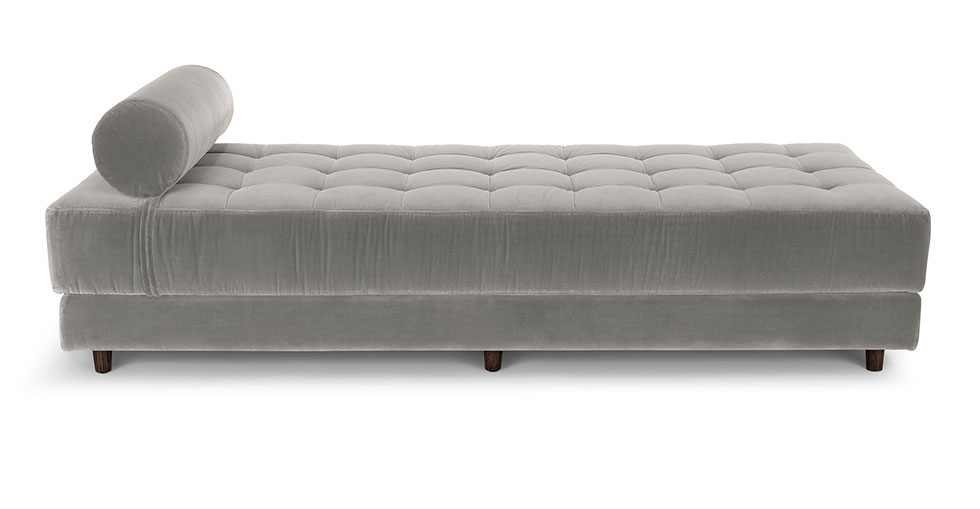 Sven Intuition Gray Daybed