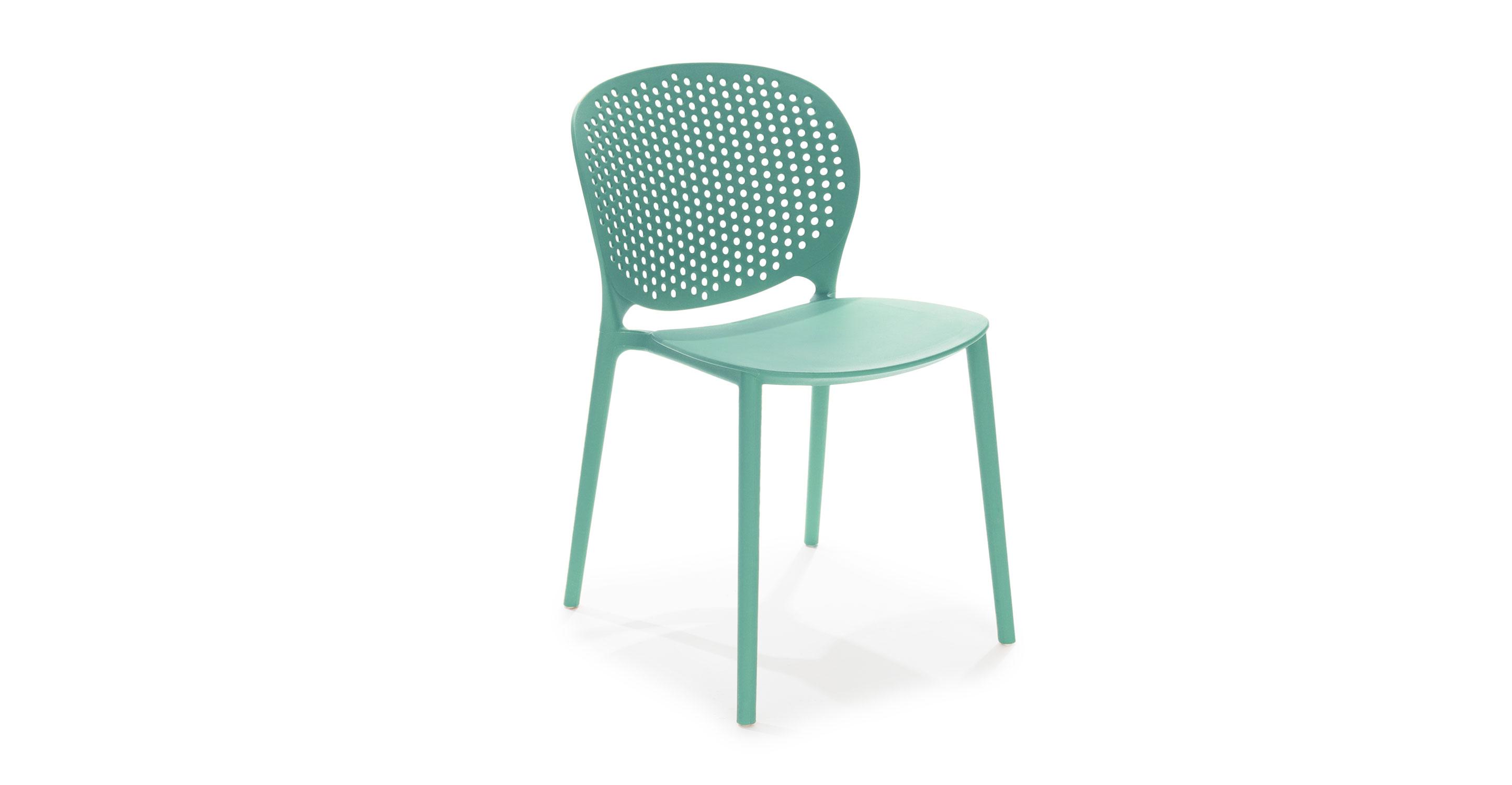 Dot Malibu Aqua Dining Chair Dining Chairs Article