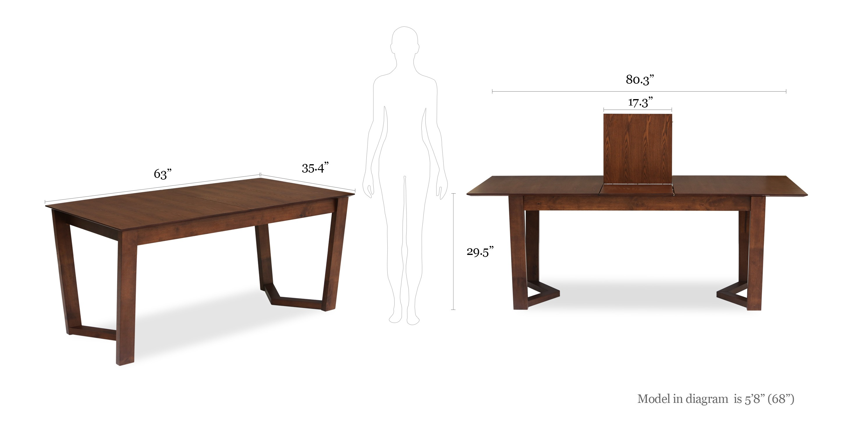 Vitas Expandable Dining Table Dining Tables Article
