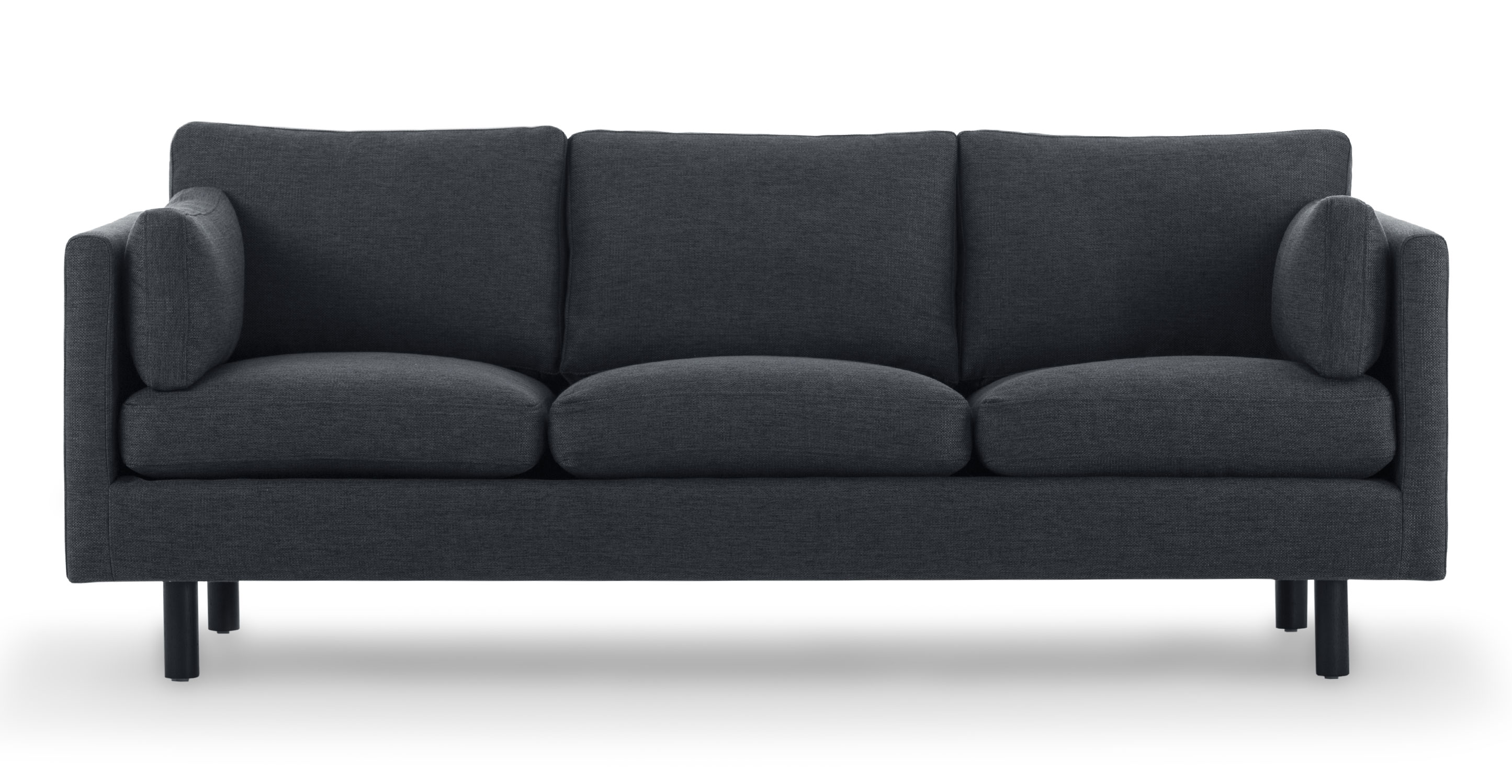 nova bard gray sofa sofas article modern mid century and scandinavian furniture. Black Bedroom Furniture Sets. Home Design Ideas