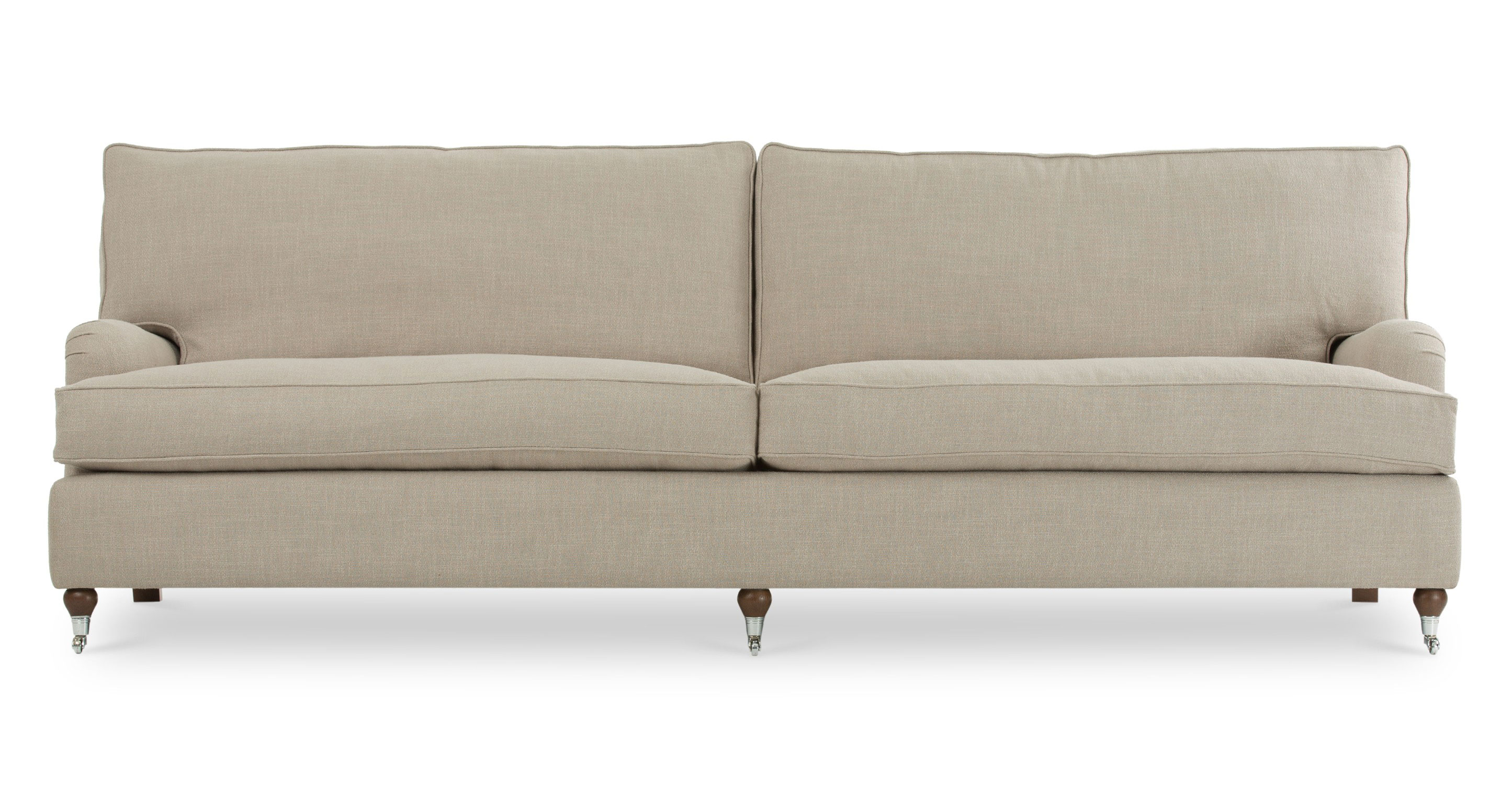 Edward Wheat Beige Sofa Sofas Article Modern Mid