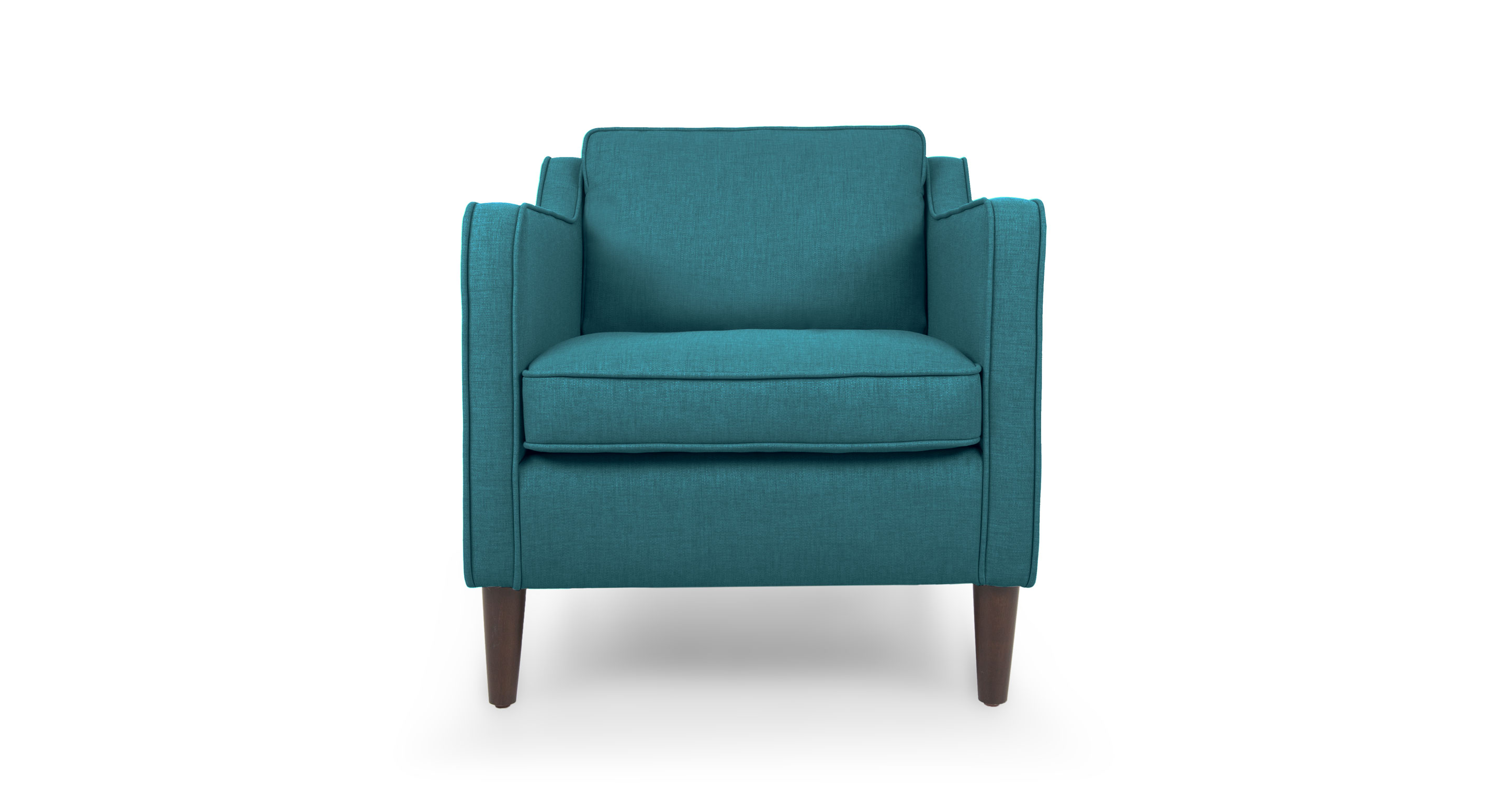 Cherie Ocean Teal Armchair Lounge Chairs Article Modern Mid