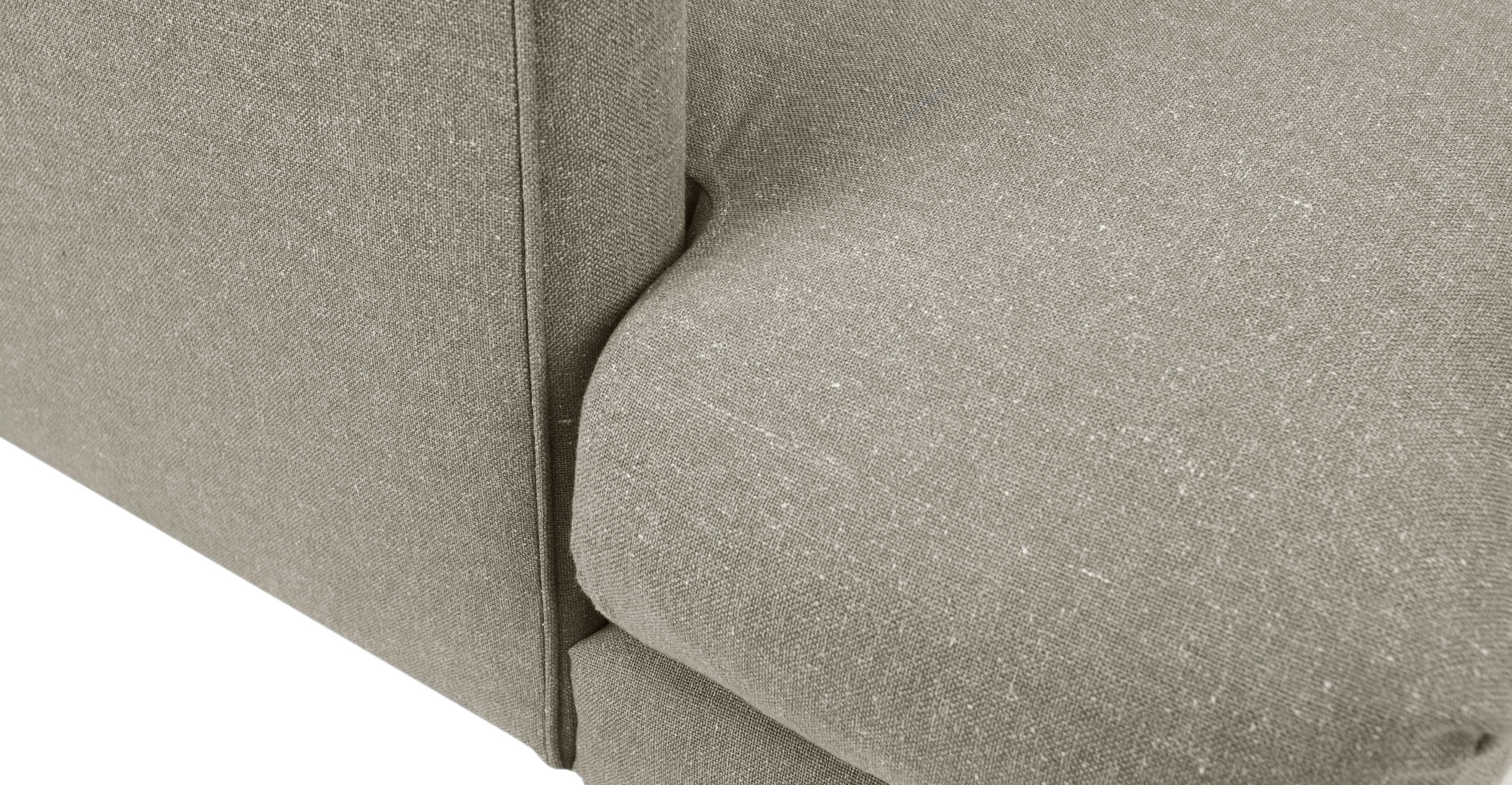 Carl Cobble Gray Sofa Sofas Article Modern Mid