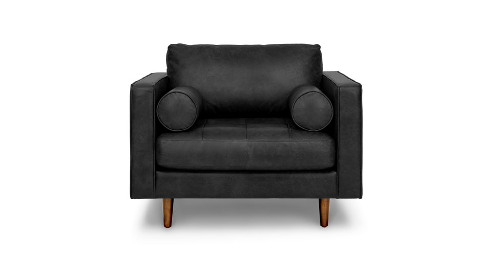 Sven Oxford Black Chair