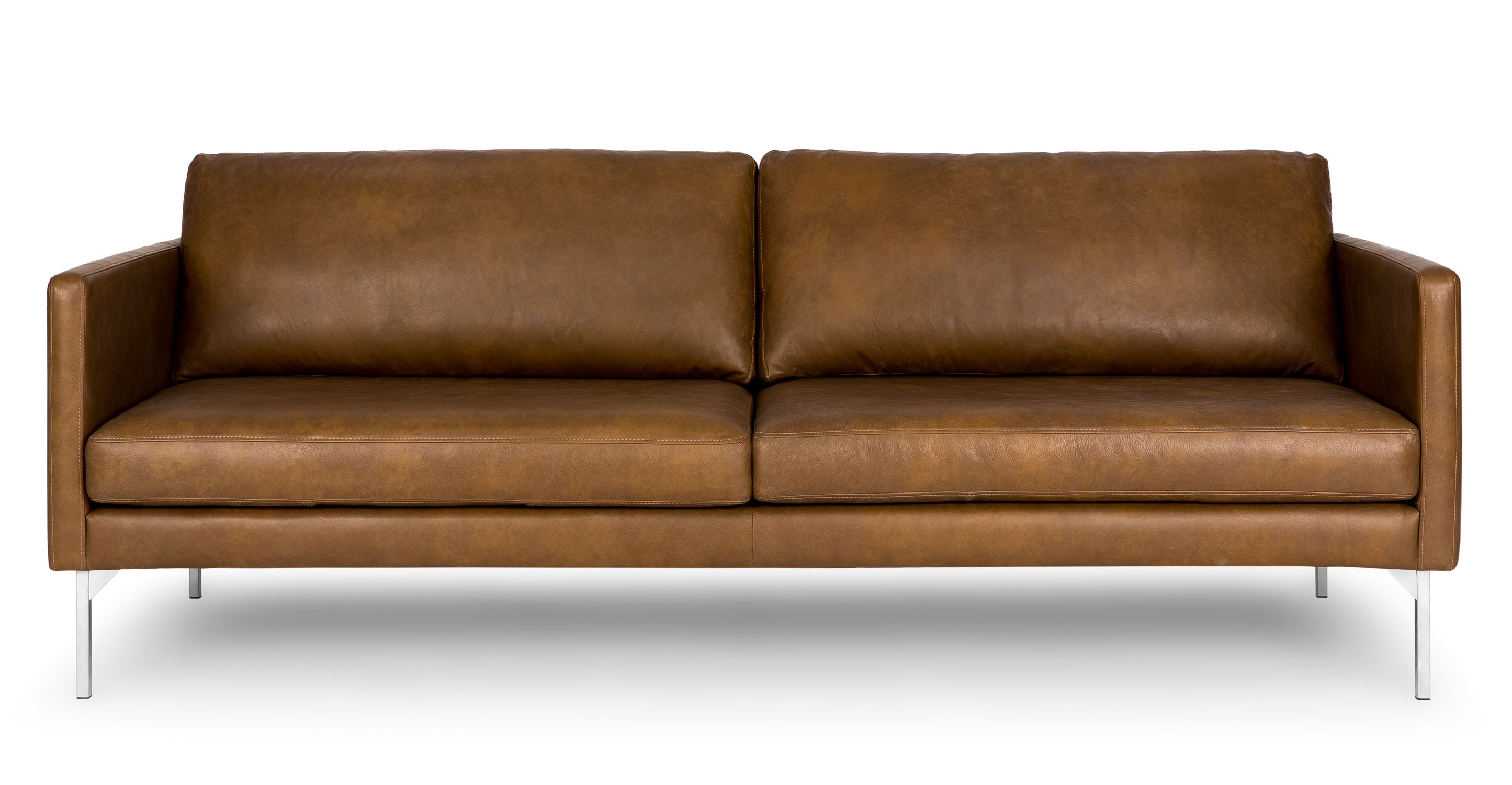 Echo Oxford Tan Sofa Sofas Article Modern Mid