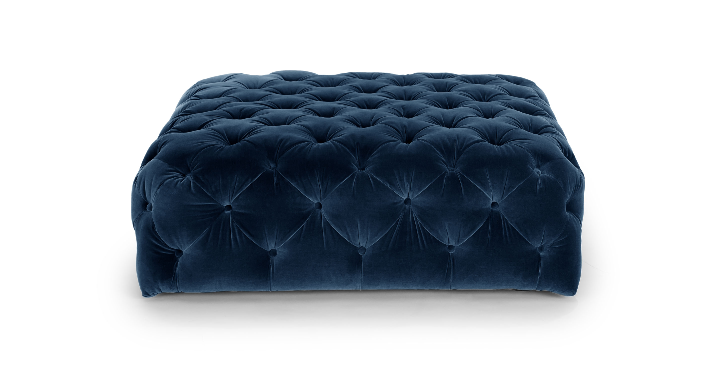 diamond cascadia blue ottoman ottomans article. Black Bedroom Furniture Sets. Home Design Ideas