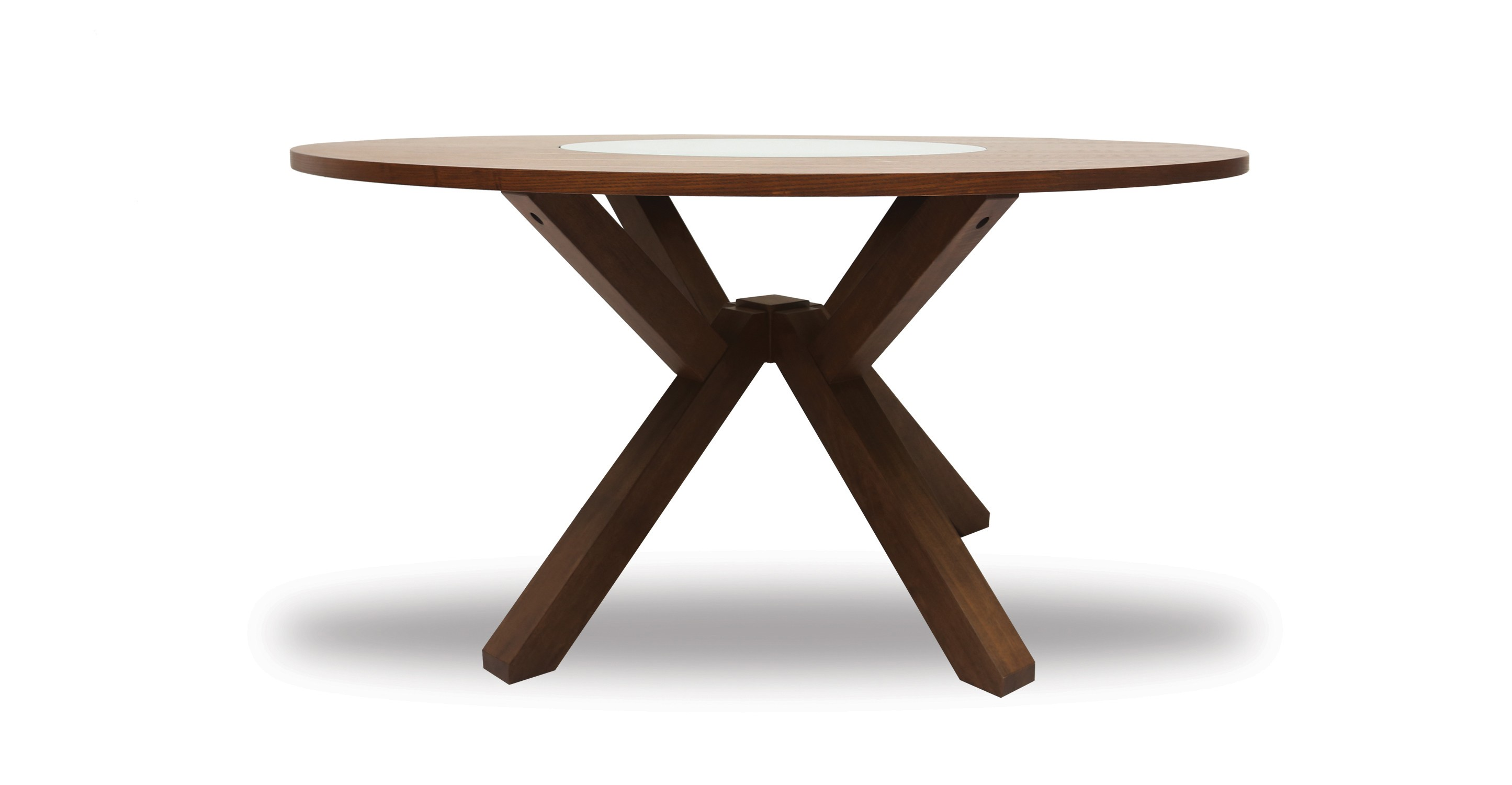 Clifford Lazy Susan Round Dining Table