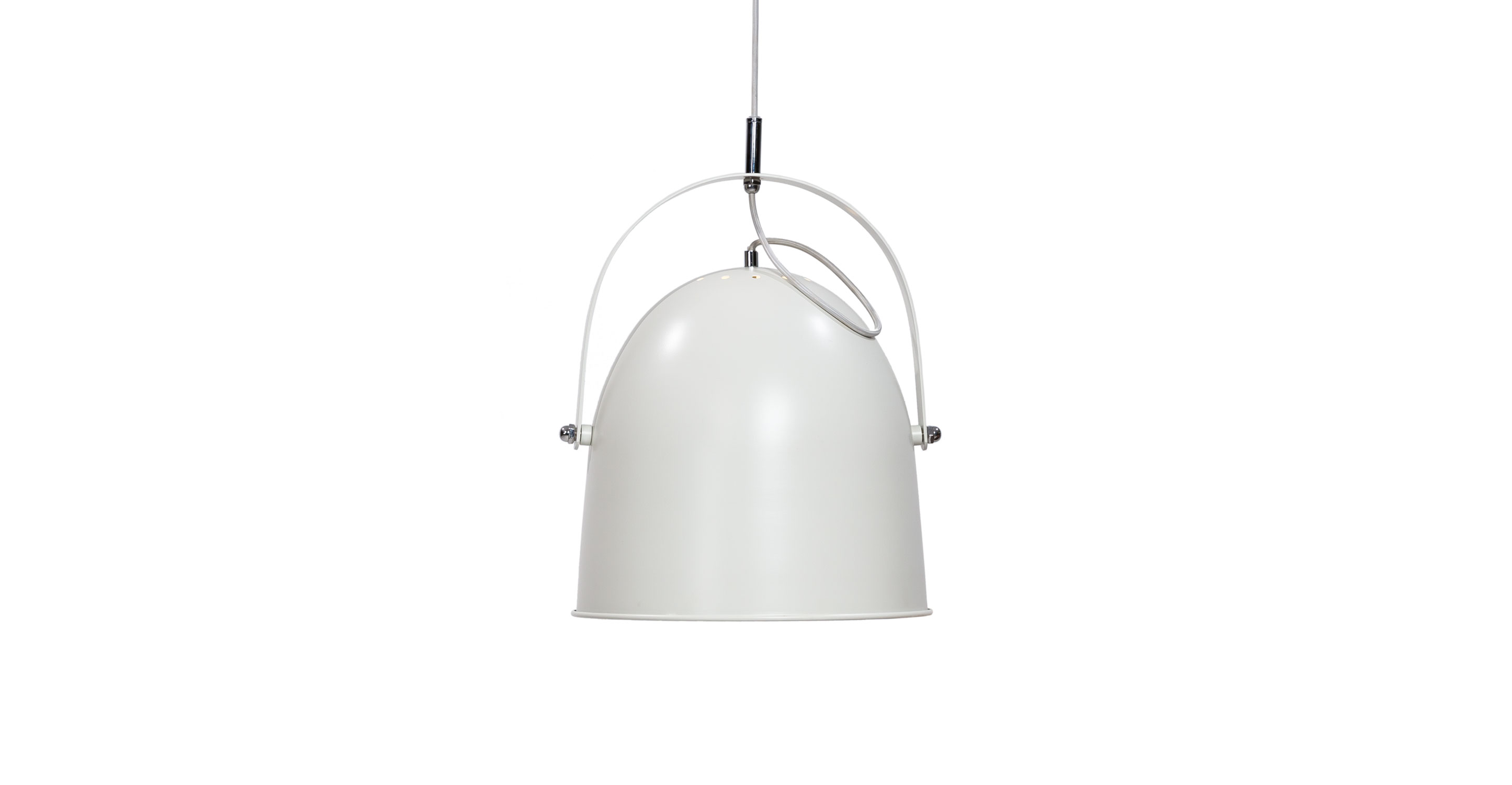 Pivot White Pendant Lamp Lighting Article Modern