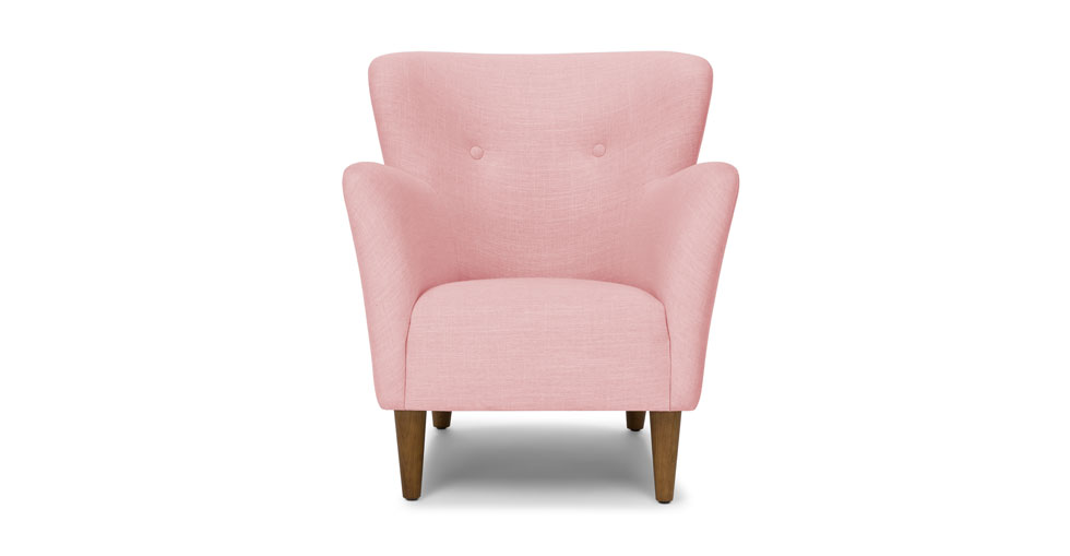 Happy Quartz Rose Armchair