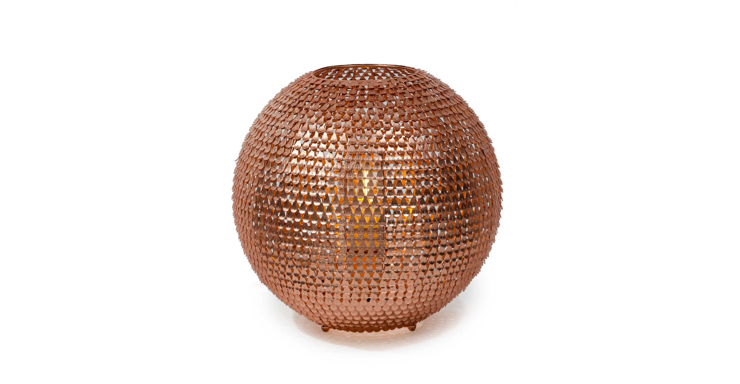 Baskets article modern mid century and scandinavian furniture - Ceto Copper Table Lamp Lighting Article Modern Mid