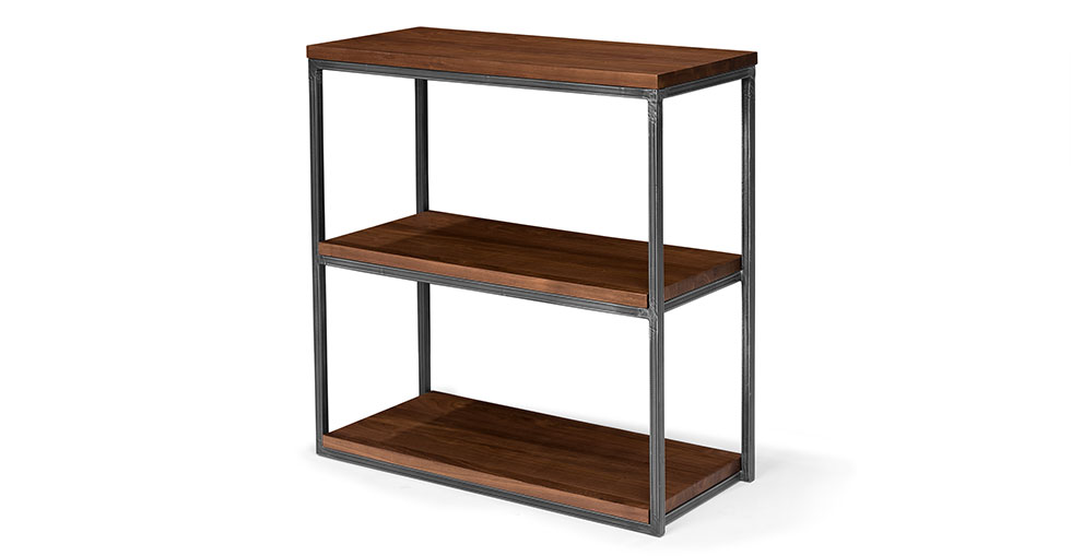 "Archive Walnut 32""H Bookcase"