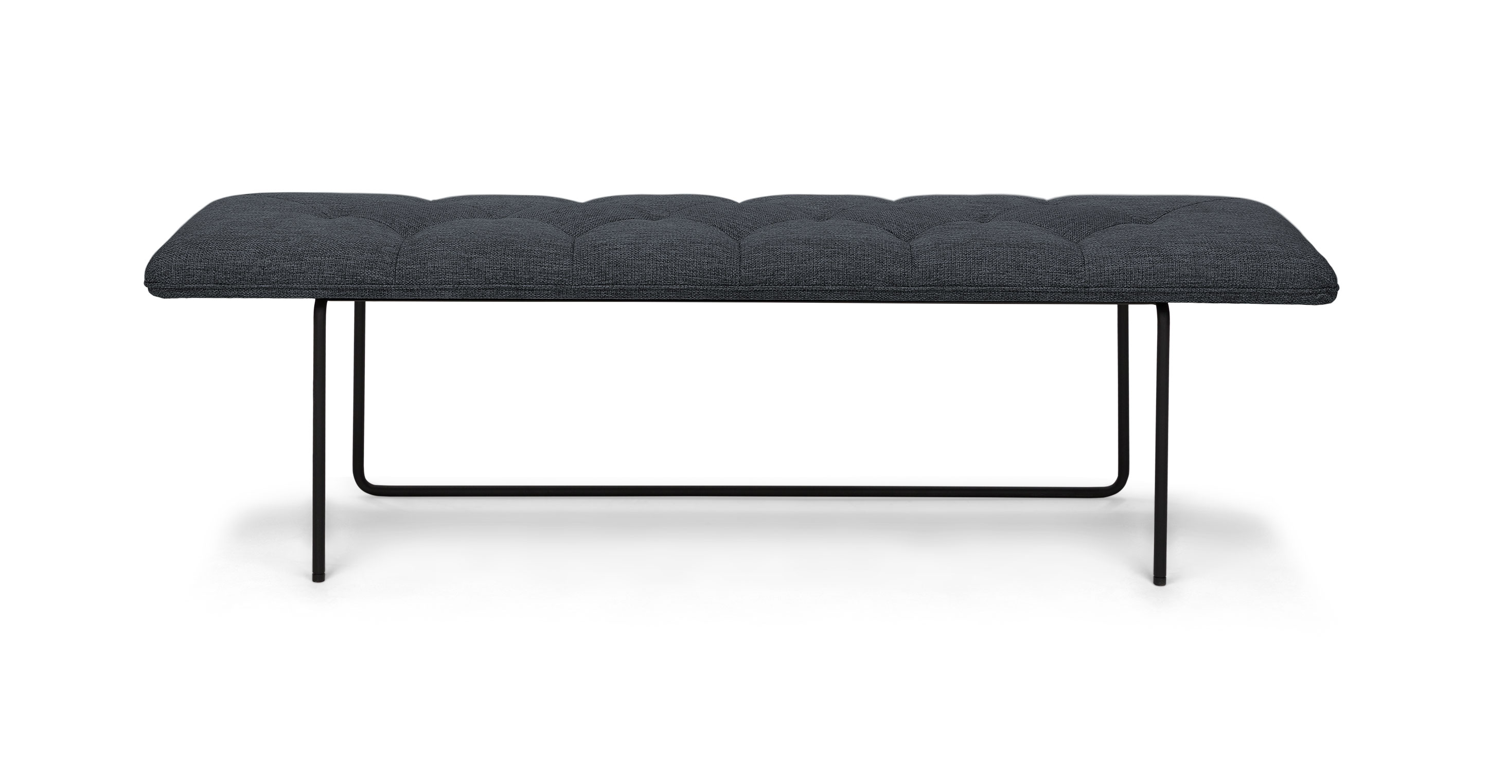 Horizon Bard Gray Bench Benches Article Modern Mid