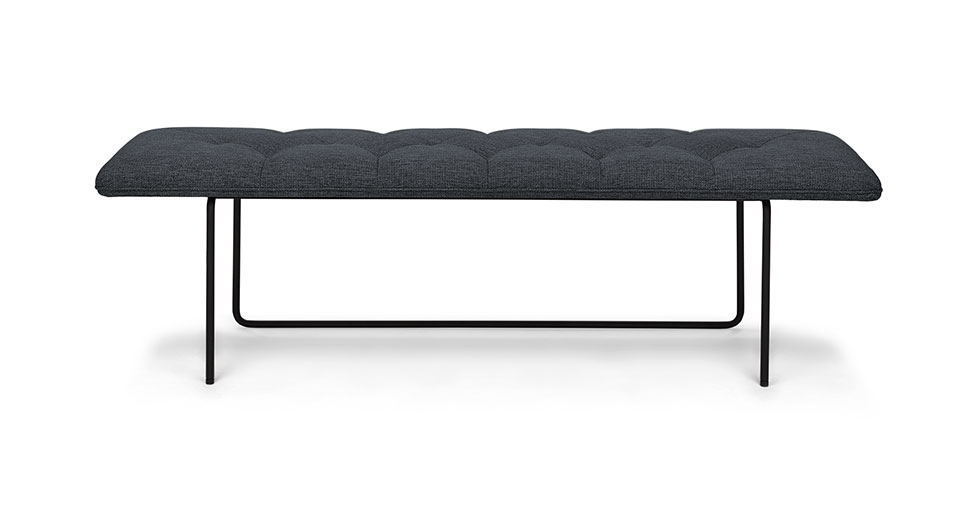 Horizon Bard Gray Bench