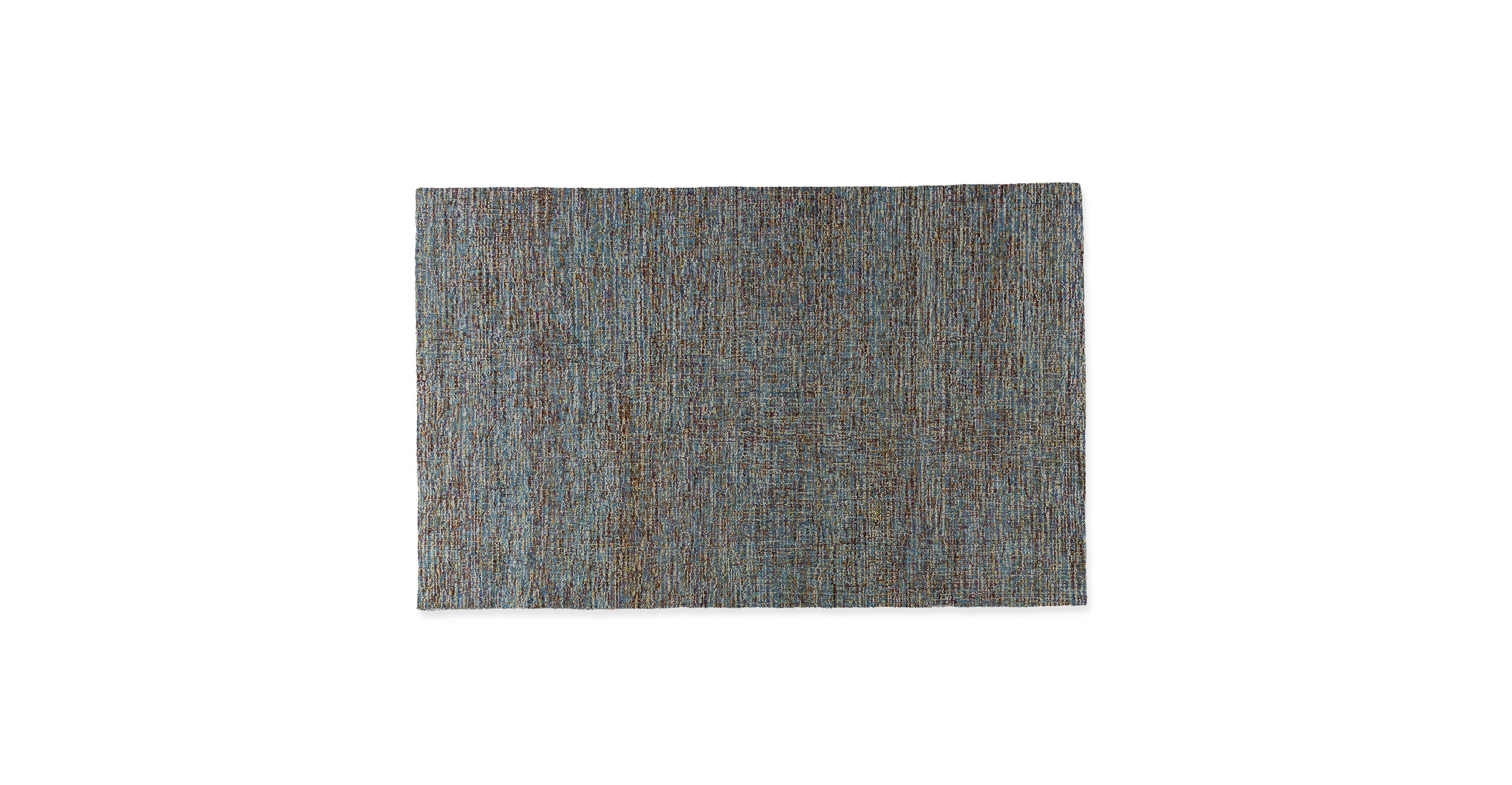 Loopi Tidepool Blue Rug 5 X 8 Rugs Article Modern