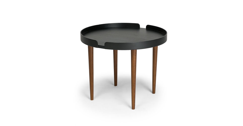 Trei Black / Walnut Coffee Table