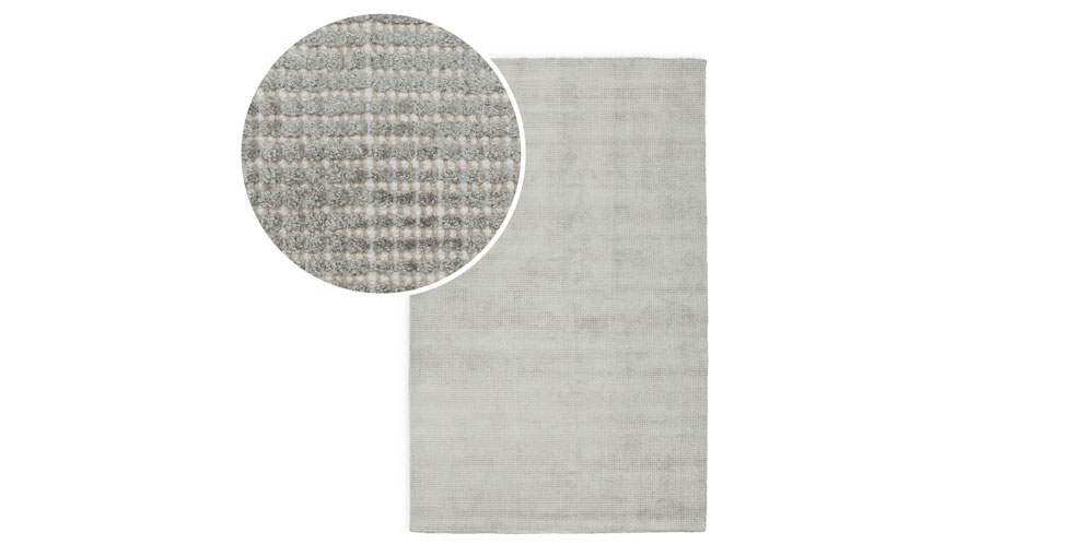Sheena Dove Gray Rug 5 x 8