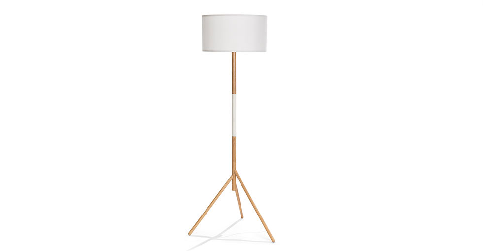 Stilt White Floor Lamp