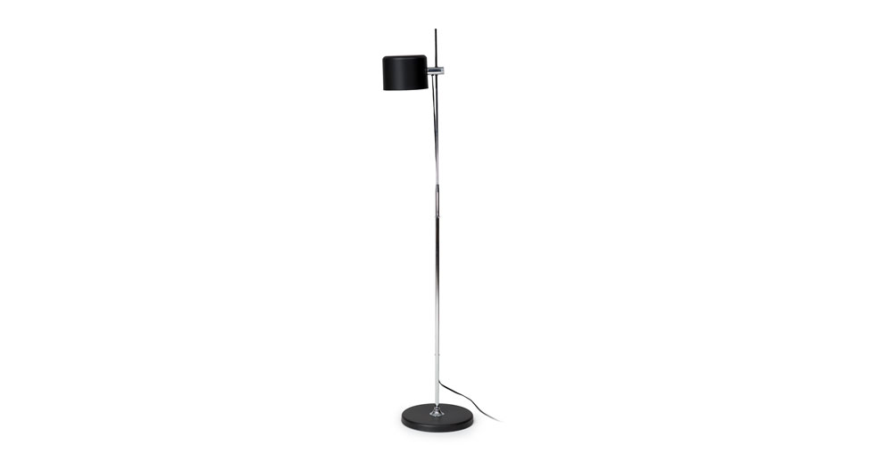 Rise Black Floor Lamp