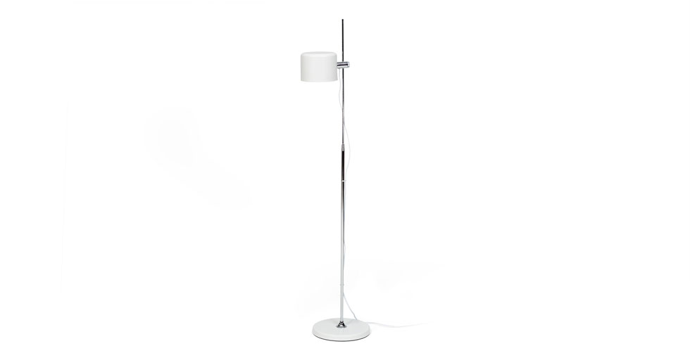 Rise White Floor Lamp