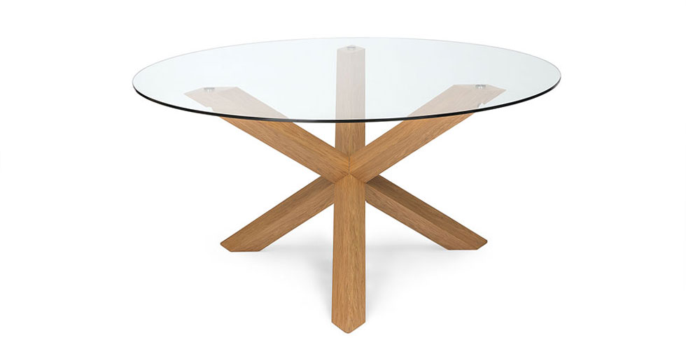 Trina Oak Dining Table