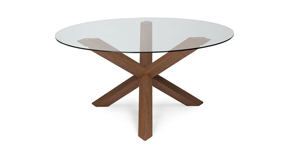 Trina Walnut Dining Table