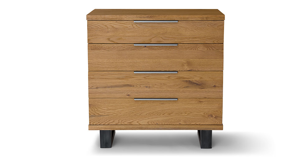 Taiga Oak 4 Drawer Dresser