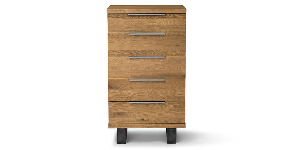 Taiga Oak 5 Drawer Dresser