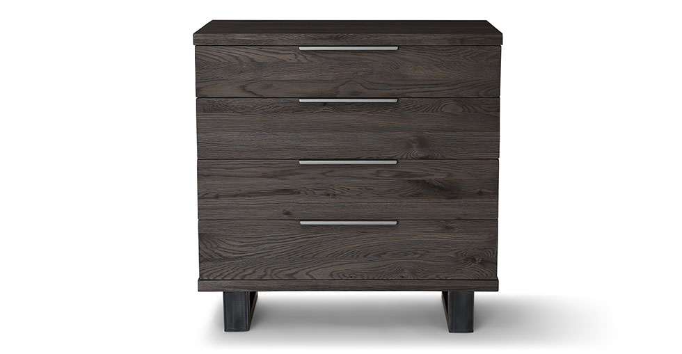 Taiga Smoke 4 Drawer Dresser