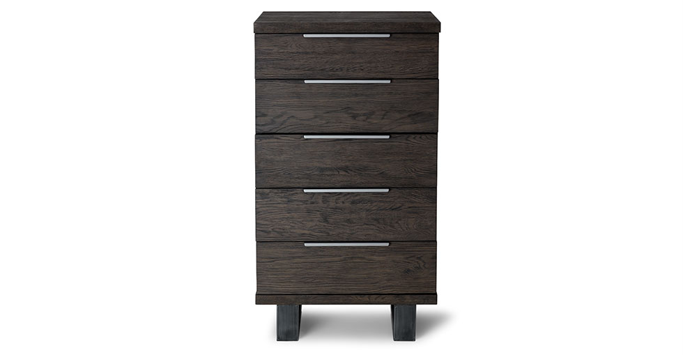 Taiga Smoke 5 Drawer Dresser