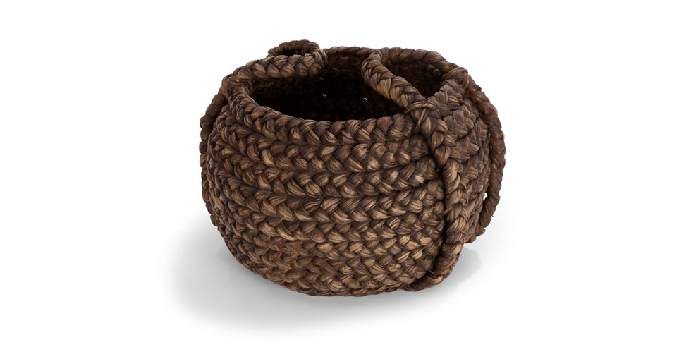 Tress Brown Large Basket