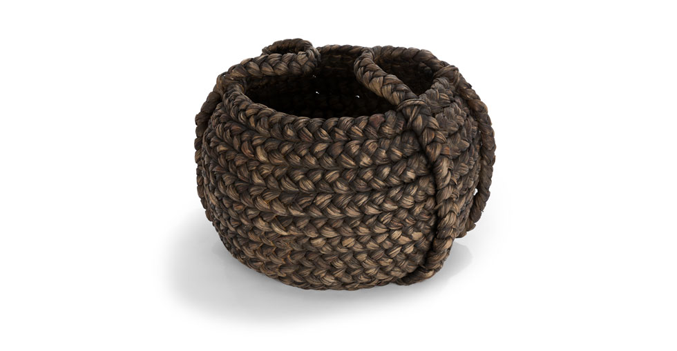Tress Black Large Basket