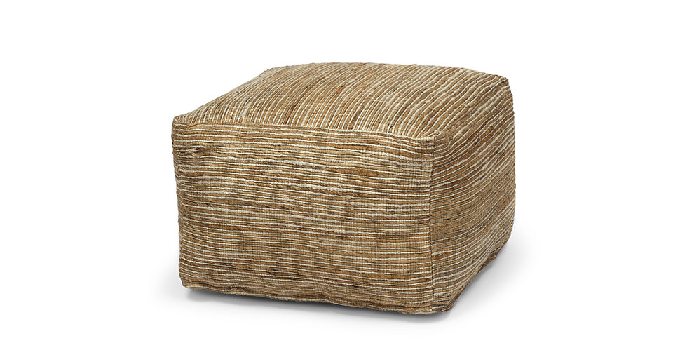 Jota Natural Tan Pouf
